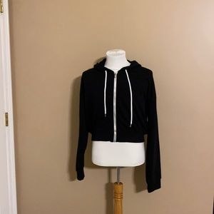 Women's Forever 21 Cropped Hoodie
